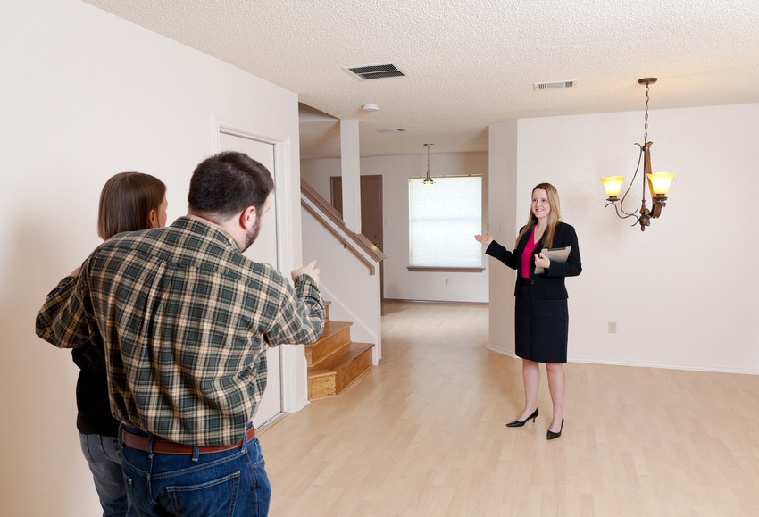 excited buyers buying a home in the triangle