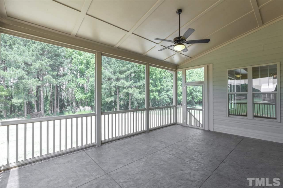 screened porch at 654 christian light road