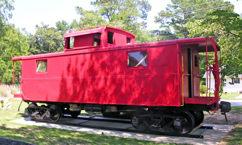 red caboose museum in fuquay varina