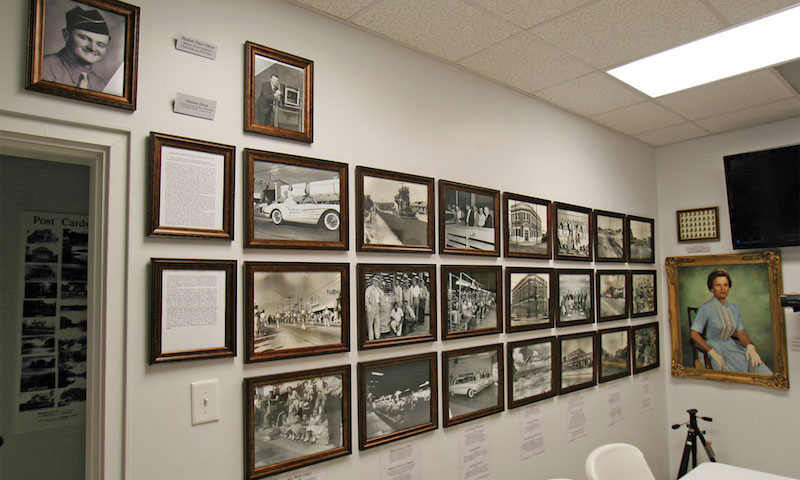 Inside the fuquay varina centennial museum