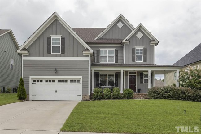 fuquay varina home with curb appeal