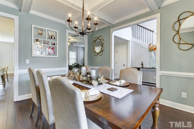 fuquay varina home with luxury dining