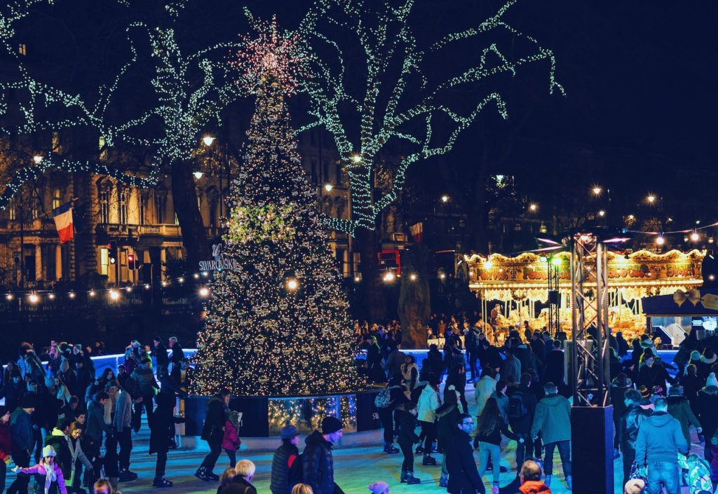 tree lighting and other triangle events