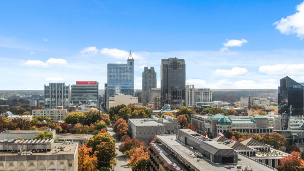 Raleigh, North Carolina is a popular destination to move to.